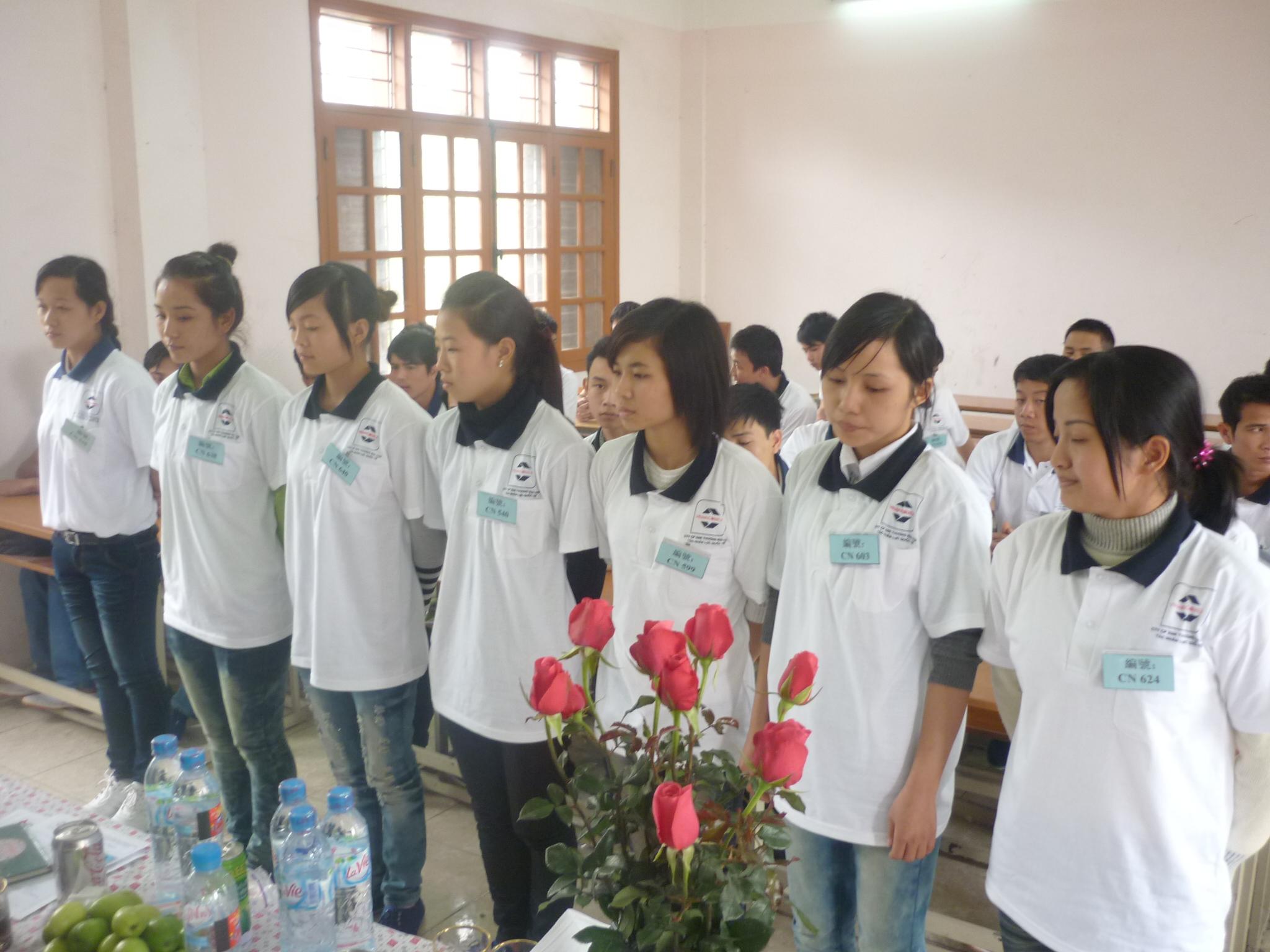 Quy trình tuyển chọn và Đào tạo cho người đi xuất khẩu lao động
