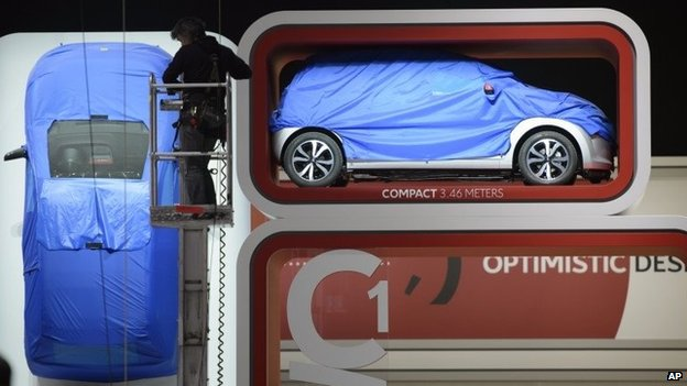 Geneva Motor Show: Europe's car industry in optimistic mood
