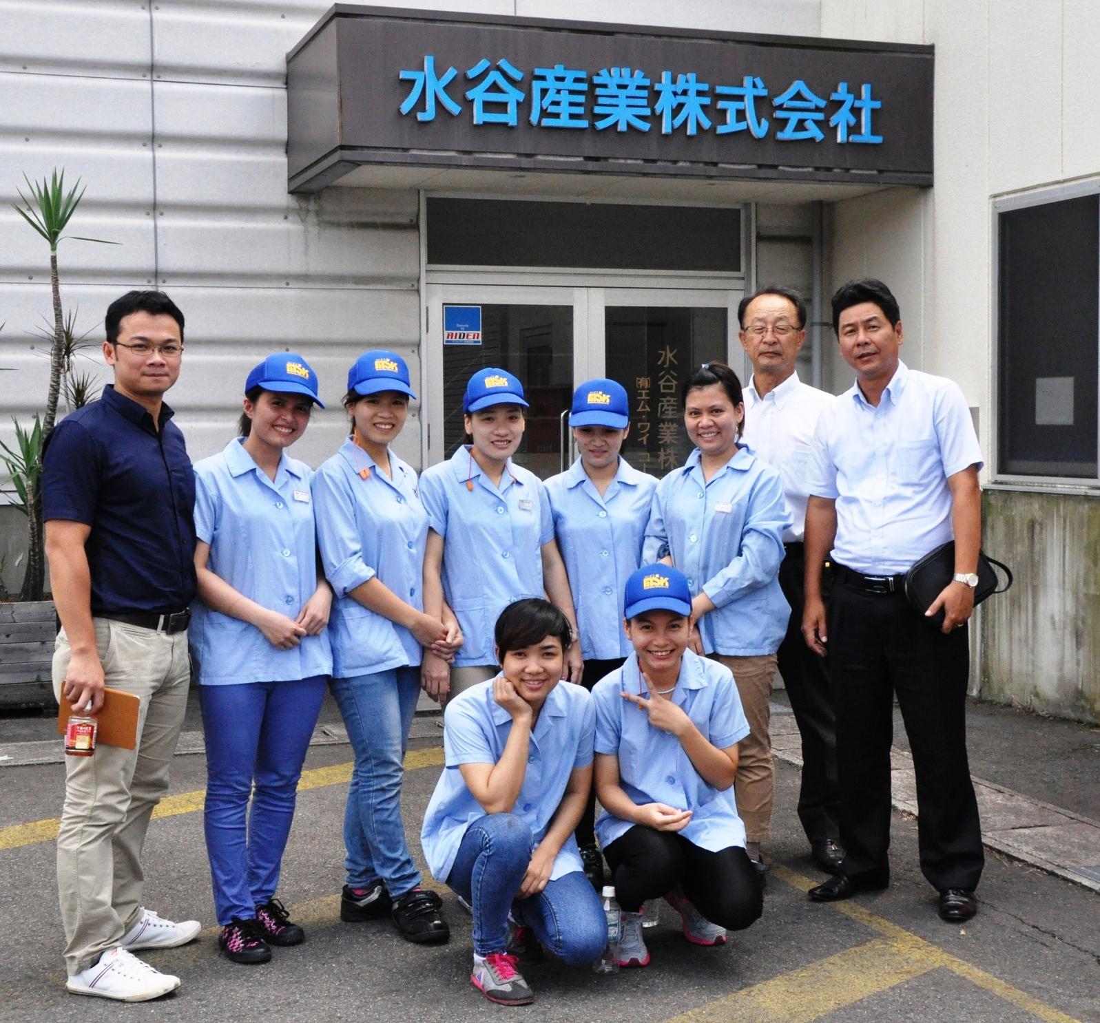 Ban lãnh đạo Công ty sang thăm hỏi TTS đang làm việc tại Nhật Bản.