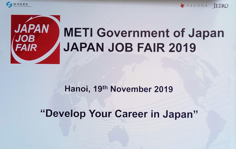 Hội chợ việc làm JAPAN JOB FAIR 2019